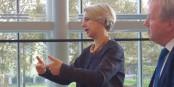 Helga Stevens est candidate à la présidence du Parlement Européen en 2017. Foto: Tobias Gotthardt