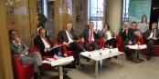 Les acteurs de la coopération franco-allemande sont motivés - alors, ça devrait fonctionner... Foto: Eurojournalist(e)