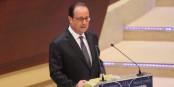 """François Hollande a promis """"une solution pour chaque réfugié à calais en situation régulière"""". Foto: Eurojournalist(e)"""