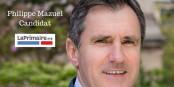"""Philippe Mazuel est l'un des candidats en lice pour """"LaPrimaire.org"""". Foto: affiche"""