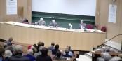 Le Professeur Frank Baasner du DFI a analysé les difficultés européennes à se relancer. Foto: Eurojournalist(e)
