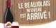 Der neue Beaujolais ist da - für die Franzosen ist das nicht unbedingt ein Fest... Foto: privée