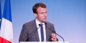Links? rechts? Zentrum? Who knows... Emmanuel Macron. Foto: Pablo Turpin-Noriega (Wikipedia France) / Wikimedia Commons / CC-BY-SA 4.0int