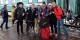 Auf Tour durchs ferne Kasachstan - Zweierpasch mit kasachischen Musikern. Foto: Zweierpasch