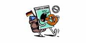 """""""Charlie"""" hat sich auf den Weg nach deutschland gemacht - herzlich willkommen! Foto: Charlie Hebdo"""