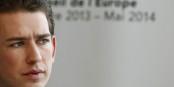 """Sebastian Kurz, le dernier ministre des affaires étrangères européen à savoir ce que sont les """"valeurs européennes"""" ? Foto: Österreichisches Aussenministerium / Wikimedia Commons / CC-BY 2.0"""