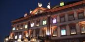 Der vielleicht grösste Adventskalender der Welt wurde in diesem Jahr in Gengenbach von Andy Warhol gestaltet. Wow! Foto: Eurojournalist(e)