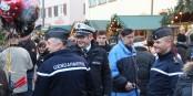 La sécurité version sympathique et souriante. A Gengenbach, dans un format franco-allemand. Beau. Foto: Eurojournalist(e)