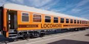 An den Anblick kann man sich schon mal gewöhnen - Locomore ist eine echnte Alternative zu Fernbus und Bahn. Foto: https://locomore.de