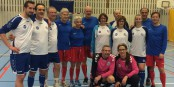 En bleu, l'équipe franco-allemande ayant joué comme le Brésil... Foto: PC/FB privée