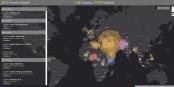 La carte mondiale du terrorisme 2016 montre que le monde entier est concerné par la lutte contre le terrorisme. Foto: PeaceTech Lab avec Esri