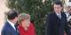 """So richtig wohl scheint sich """"Mutti"""" in Manuel Valls Gegenwart nicht zu fühlen... Foto: Eurojournalist(e)"""