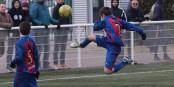 So jung und schon so eine Technik - der FC Barcelona macht's möglich! Foto: Phil Bergdolt/LAFA
