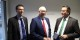 Felix Braun, Gerd Billen und Peter Hauk bei ihrem Gespräch in kehl. Foto: Eurojournalist(e)