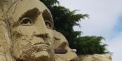 Même le Mount Rushmore à Légoland California se fait du soucis... Foto: mliu92 from San Mateo / Wikimedia Commons / CC-BY-SA 2.0