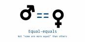 Dass frau auch im Jahr 2017 noch um Gleichberechtigung kämpfen muss, ist ganz schön traurig... Foto: Carrot Lord / Wikimedia Commons / GNU 1.2