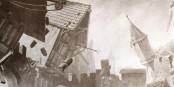 C'est ainsi que ça s'est passé en 1356 à Bâle - lorsqu'un tremblement de terre a dévasté la ville... Foto: Karl Jauslin / Wikimedia Commons / PD