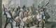 Le carnaval bâlois n'a pas beaucoup changé depuis l'époque de Hieronymus Hess, l'auteur de ce tableau... Foto: Hieronymus Hess / Wikimedia Commons / PD