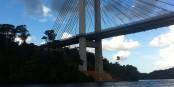 Ce pont relie la Guyane Française et le - Brésil ! Foto: Loljules // Wikimedia Commons / CC-BY-SA 3.0