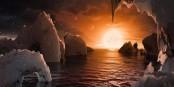 """A quand, les voyages sur la planète """"Trappist"""" (pour les plus fortunés) ? Foto: NASA / Wikimedia Commons / PD"""
