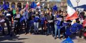 """""""Pulse of Europe"""" est sur le point de devenir un grand mouvement pro-européen porté par la société civile. Foto: http://pulseofeurope.eu"""