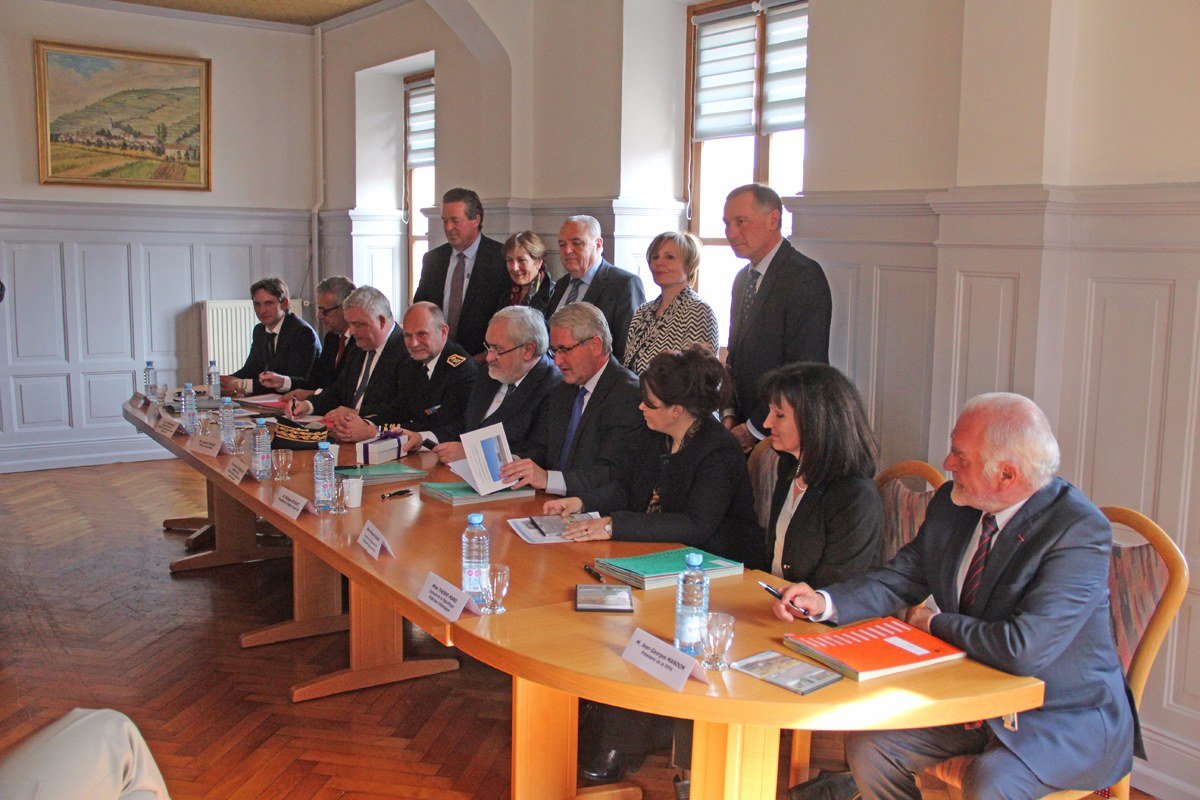 Les signataires financent le projet à hauteur de 4,8 millions d'euros. Foto: Eurojournalist(e)