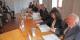 """Die Träger des Projekts """"Historial auf dem Hartmannswillerkopf"""" bei der Unterzeichnung ihres finanziellen Engagements. Foto: Eurojournalist(e)"""