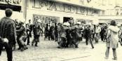 36 Jahre ist es her, dass 4000 Polizisten die Stadt Freiburg belagerten. Gewonnen haben sie am Ende doch nicht. Foto: Historischer Zeitungsausschnitt