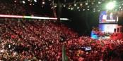 20 000 personnes assistaient à ce qui pourrait être la renaissance de la gauche française. Foto: Kasmi Taoufik