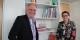 Strasbourg et Munich - Serge Oehler et Beatrix Zurek mènent un échange prometteur. Foto: Eurojournalist(e)