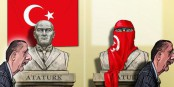 Erdogan est passé par la - la fin de la Turquie de Kemal Atatürk. Foto: Shlomo Cohen / Wikimedia Commons / CC0