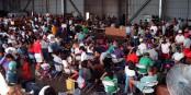 L'évacuation de 4,5 millions de personne n'est pas une mince affaire... Foto: PH1 Randall C. Burney, USN / Wikimedia Commons / PD