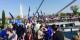 De milliers de citoyens européens se retrouvent unis par la volonté de voir une Europe meilleure se construire. Foto: Isuf Halimi