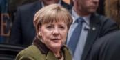 Quand les Allemands sont angoissés, ils se réfugient dans les jupes d'Angela Merkel... Foto: Frankie Fouganthin / Wikimedia Commons / CC-BY-SA 4.0int