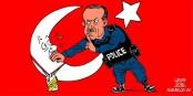 Est-ce que cet homme peut être un partenaire pour l'OTAN ? Ou pour l'UE ? Foto: Carlos Latuff / Wikimedia Commons / PD