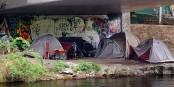 La pauvreté dans les villes - un squat à Berlin. Foto: Babewyn / Wikimedia Commons / CC-BY-SA 4.0int