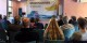 André Presse, Ökonom, hält in Göttingen einen Vortrag zu den wirtschaftlichen Fragen des Grundeinkommens und versucht, das ohnehin Unvermeidbare zu legitimieren. Foto: facebook BGE - Bündnis Grundeinkommen