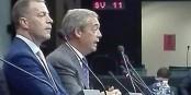 On l'avait presque oublié... Nigel Farage a soutenu l'AfD lors d'un meeting à Berlin. Foto: Eurojournalist(e)
