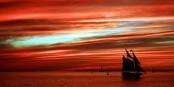 """Coucher du soleil sur Key West - il faudra aider les habitants de la """"Conch Republic"""" à reconstruire ce bout du paradis. Foto: Brian W. Schaller / Wikimedia Commons / CC-BY-SA 3.0"""