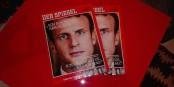 """Sur 8 pages, les lecteurs allemand du DER SPIEGEL apprennent tout sur Emmanuel Macron, le """"héros politique"""". Côté politique, les lecteurs restent sur leur faim... Foto: Eurojournalist(e)"""