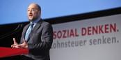 Martin Schulz sera en position de force pour négocier avec Angela Merkel. Foto: SPÖ Presse und Kommunikation / Wikimedia Commons / CC-BY-SA 2.0