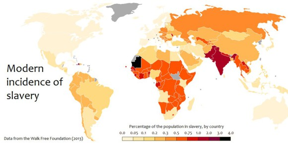 L'esclavage, pourtant aboli depuis le 19e siècle, est de retour. Aussi grâce aux financements européens. Foto: Kwamikagami / Wikimedia Commons / CC-BY-SA 3.0