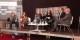 Lors du débat entre Jérémy Paret, Ulrike Guérot, Kai Littmann, Nawel Rafik-Elmrini, Sylvain Waserman et Luc van den Brande, un résultat surprenant s'est dessiné. Foto: Michael Magercord / Eurojournalist(e) / CC-BY-SA 4.0int