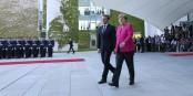 Es wäre an der Zeit, mit konkreten Ideen für Europa aufzuwarten... Foto: (c) Présidence de la République / N. Bauer