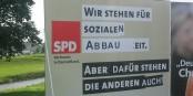 Ja, wofür steht die SPD eigentlich noch? Die WählerInnen wissen es auch nicht mehr... Foto: Jowereit / Wikimedia Commons / CC-BY-SA 3.0