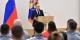 """Die """"Sanktionen"""" gegen das russische Staatsdoping waren ein Witz - Vladimir Putin erklärt seinen Sportlern, was von ihnen erwartet wird. Gewinnen. Foto: Kremlin.ru / Wikimedia Commons / CC-BY-SA 4.0int"""