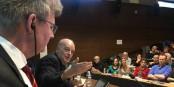Une conférence qui a réuni les bonnes volontés du Rhin Supérieur. Foto: Arno Scholz / Ville de Freiburg