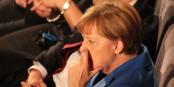 Le doigt dans le nez - Angela Merkel repart pour un quatrième mandat à la tête du gouvernement allemand. Foto: Eurojournalist(e) / CC-BY-SA 4.0int
