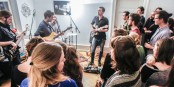 Die Michi-Oertel-Band spielte in den K1-Sessions live am vergangenen Samstag in Freiburg Freiburg. Foto: Bicker