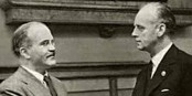 Molotov et Ribbentrop, deux grands criminels de l'Histoire. Foto: Molotov / Wikimédia Commons / PD